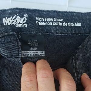 Black mossimo shorts